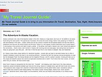 My Travel Journal Guide