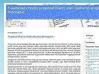 Proposal Usaha Studi Kelayakan Bisnis Nasi Pecel Sayur Blog Top